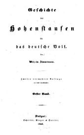 Geschichte der Hohenstaufen für das deutsche Volk: Band 1