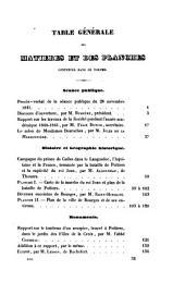 Mémoires de la Société des antiquaires de l'Ouest: Volumes8à9
