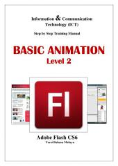 BASIC ANIMATION LEVEL 2 (MALAY): Adobe Flash CS6
