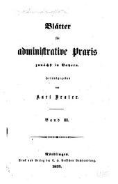 Deutsche Verwaltungsblätter: Blätter für administrative Praxis, Band 3