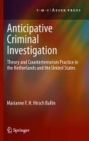 Anticipative Criminal Investigation PDF
