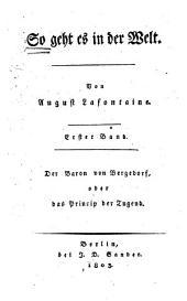 Der Baron von Bergedorf: oder, das Princip der Tugend