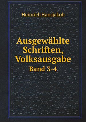 Ausgew hlte Schriften  Volksausgabe PDF