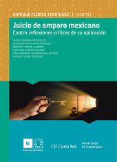 Juicio de amparo mexicano: Cuatro reflexiones críticas de su aplicación