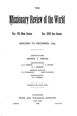 The Missionary Review of the World PDF