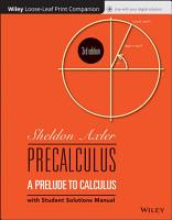 Precalculus  Loose Leaf Print Companion PDF