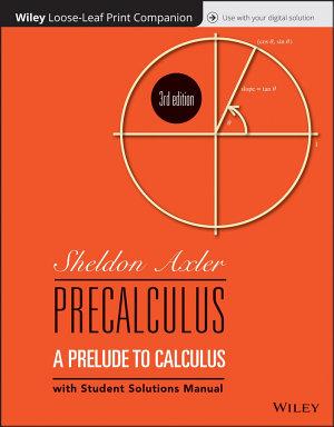 Precalculus  Loose Leaf Print Companion