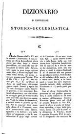 Dizionario di erudizione storico-ecclesiastica da S. Pietro sino ai nostri giorni ...