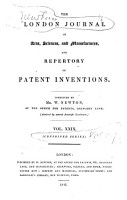 The London Journal of Arts  Sciences  and Manufactures  and Repertory of Patent Inventions PDF