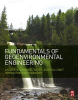 Fundamentals of Geoenvironmental Engineering PDF