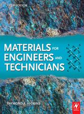 Materials for Engineers and Technicians PDF