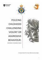 POLICING CHILDHOOD CHALLENGING VIOLENT OR AGGRESSIVE BEHAVIOUR  PDF