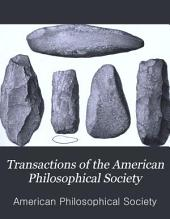 Transactions of the American Philosophical Society