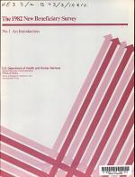 The 1982 new beneficiary survey