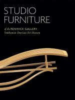 Studio Furniture of the Renwick Gallery PDF
