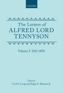 The Letters of Alfred Lord Tennyson  1871 1892 PDF