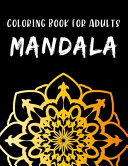 Coloring Book for Adults Mandala