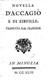 Novella d'Accagiò e di Zirfille,