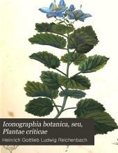 Iconographia botanica seu Plantae criticae