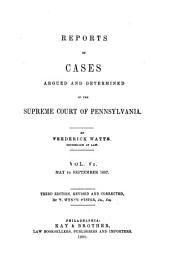 Reports of Cases ... 1754-1845: Volumes 46-47