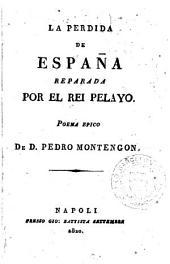 La Perdida de España reparada por el Rei Pelayo: poema epico