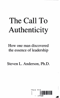 The Call to Authenticity PDF