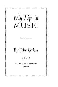 My Life in Music PDF