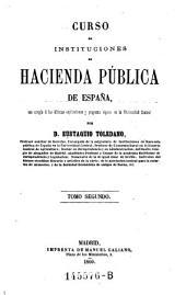 Curso de Instituciones de Hacienda Publica de Espana