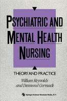 Psychiatric and Mental Health Nursing PDF