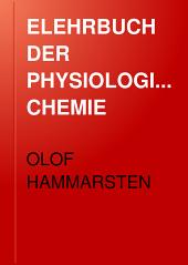 ELEHRBUCH DER PHYSIOLOGISCHEN CHEMIE