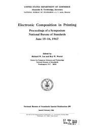 Nbs Special Publication Book PDF