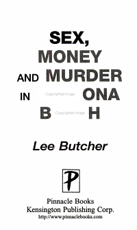Sex  Money and Murder in Daytona Beach