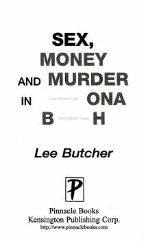 Sex  Money and Murder in Daytona Beach PDF
