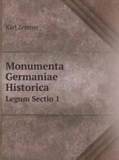 Monumenta Germaniae Historica: Volume 2