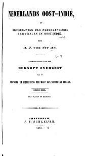 Nederlands. Oost-Indie̲: of, Beschrijving der nederlandsche bezittingen in Oost-Indie̲, Volumes 3-4