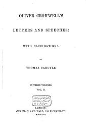 Letters and Speeches: Volume 2