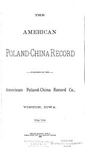 American Poland-China Record: Volume 7