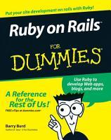 Ruby on Rails For Dummies PDF