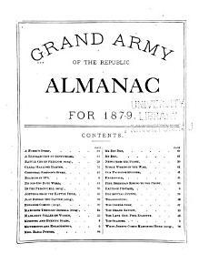 Grand Army of the Republic Almanac     PDF