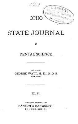Ohio State Journal of Dental Science