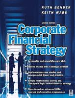 Corporate Financial Strategy PDF