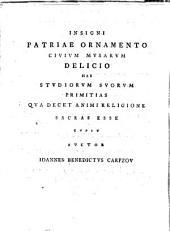 Philosophorum de quiete Dei placita amplissimi ordinis philosophici auctoritate in academia Lipsiensi a. d. 21. Sept. A.I.S. 1740 publico eruditorum examini subiicit Ioannes Benedictus Carpzov ... respondente Ioanne Carolo Steinel ...