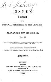 Cosmos: Sketch of a Physical Description of the Universe, Volume 2