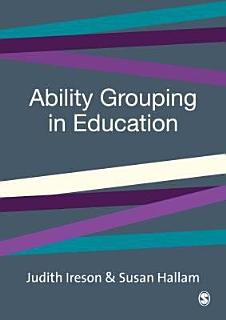 Ability Grouping in Education Book