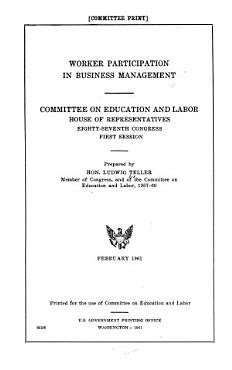 Worker Participation in Business Management PDF