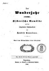 Das wunderjahr (1566): Historische gemälde aus dem sechzehnten Jahrhunderte