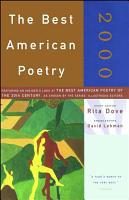 The Best American Poetry 2000 PDF