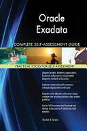 Oracle Exadata Complete Self Assessment Guide PDF