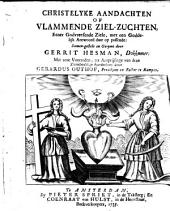 Christelyke aandachten of vlammende ziel-zuchten