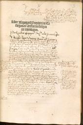 Liber Jsagogaru[m] Porphirij in Cathegorias Aristotelis diligenter emendatus